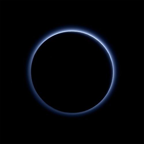Blue Skies on Pluto