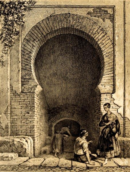 Aljibe árabe en el Albayzín