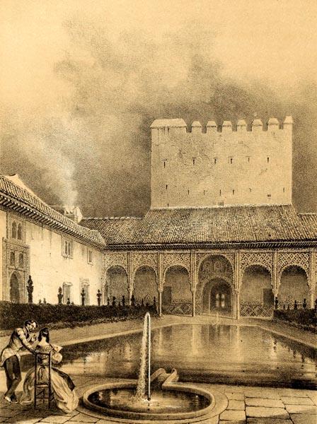 Patio de la Alberca (Alhambra)
