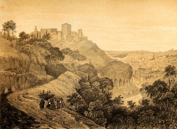 Camino de la Fuente del Avellano (Alrededores de Granada)