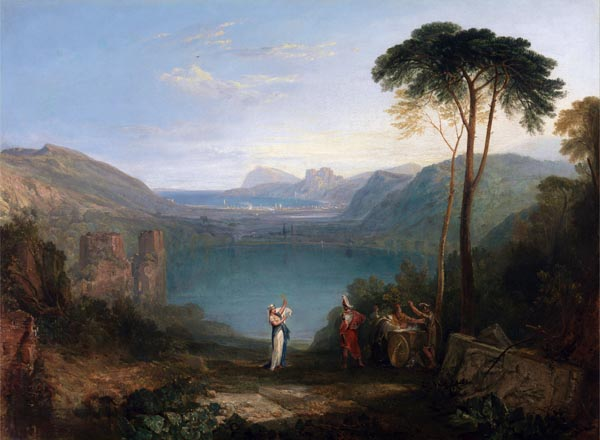 Lake Avernus - Aeneas and the Cumaean Sybil