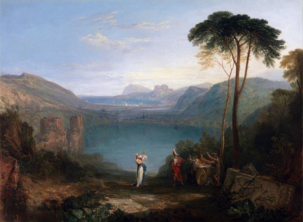 Lake Avernus - Aeneas and the Cumaean Sybil