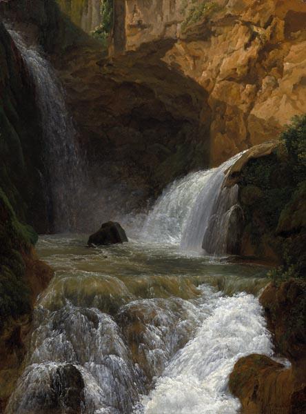 View of the Waterfalls at Tivoli