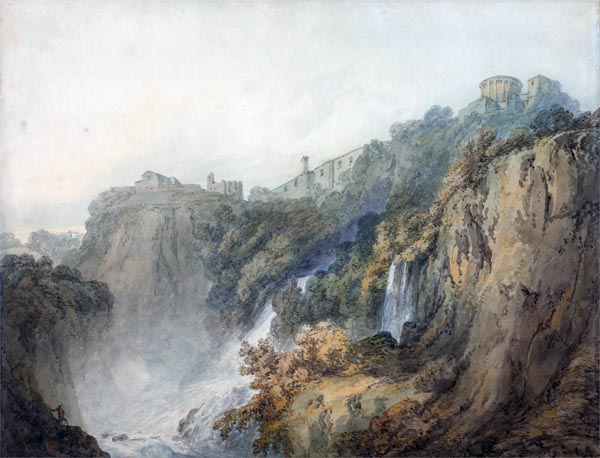 Tivoli with the Temple of the Sybil and the Cascades