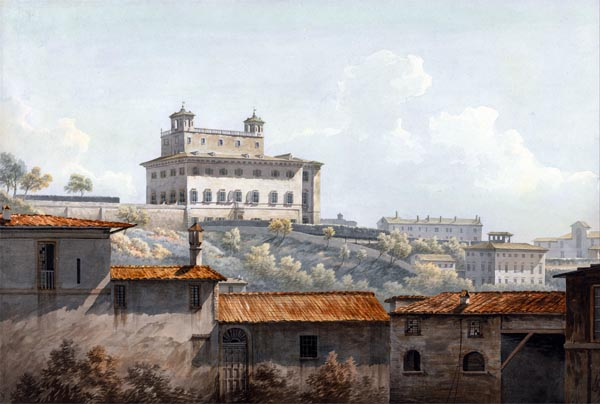 The Villa Medici, Rome