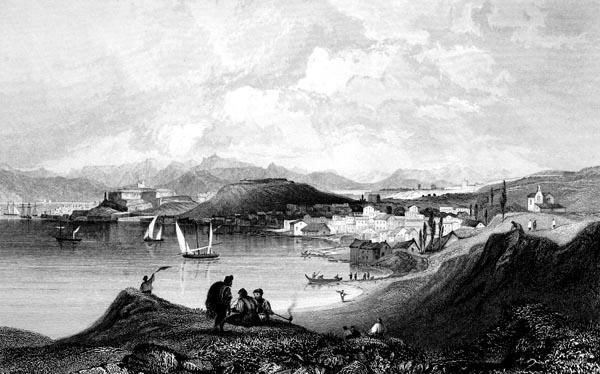 Corfu and Manduchio, from Mount Olivet