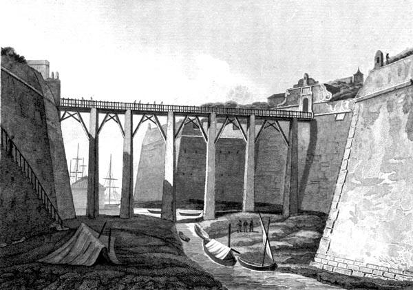 Drawbridge at Corfu