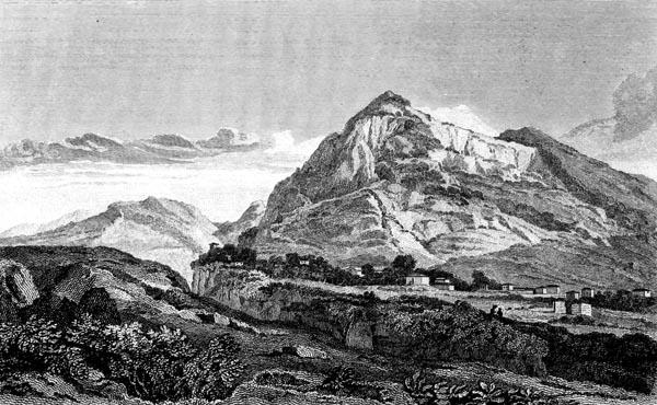 Tithorea, Mount Parnassos
