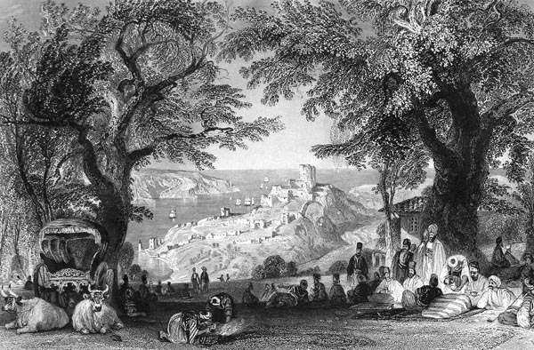 Entrance to the Bosphorus from the Black Sea