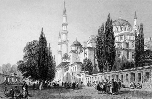 The Solimanie, or Mosque of Sultan Soliman
