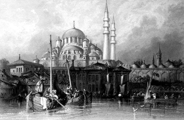 The Mosque of Yeni Jami