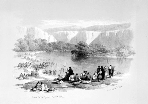The Immersion of the Pilgrims in the Jordan