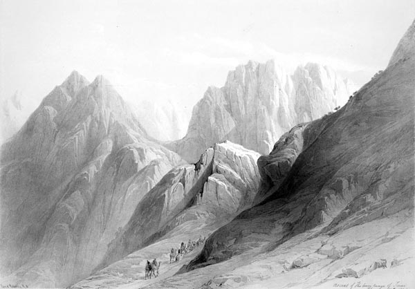 Ascent of the Lower Range of Sinai