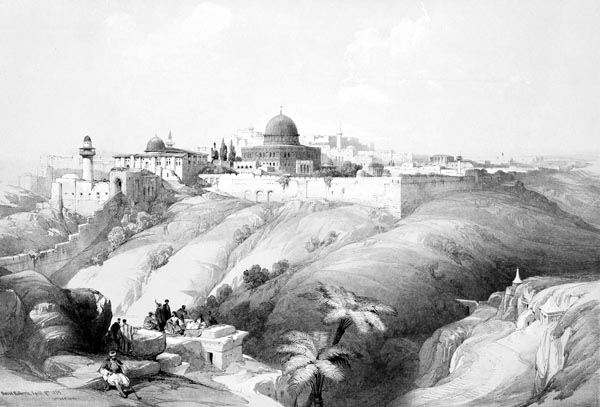 Jerusalem - the Church of the Purification