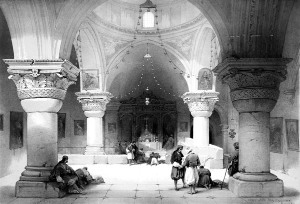 Chapel of St. Helena - Crypt of the Holy Sepulchre