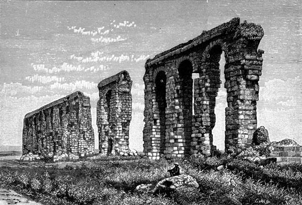 Aqueduc Romain Allant de Zaghouan à Carthage