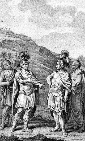 Meeting Between Hannibal and Scipio