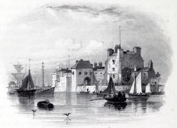 Old Water Gate and Gaol - Southampton