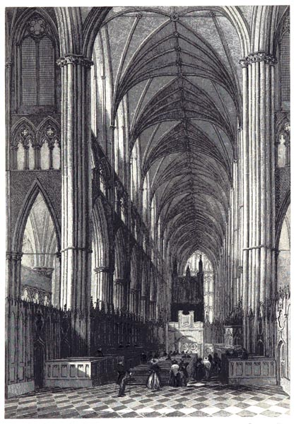 View in Westminster Abbey
