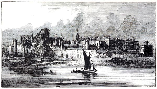 View of the Palace from Moulsey