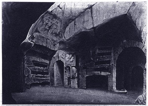Catacomb, Rome Italy