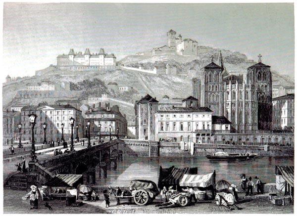 Lyon - Côte de Fourvières