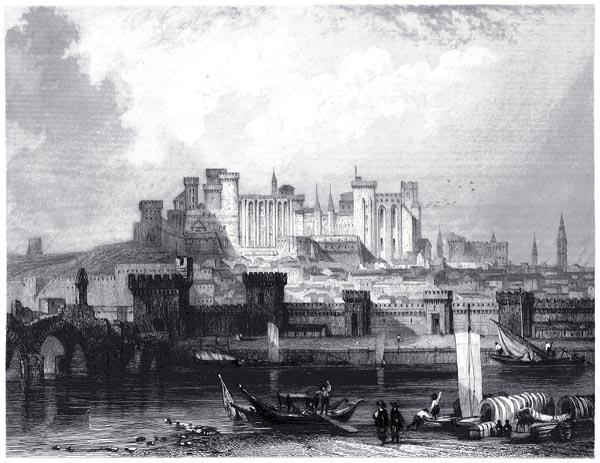 Avignon - Château de Papes
