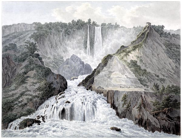 View of the Marmore Falls