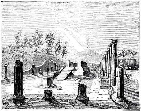 A Temple at Pompeii