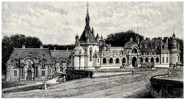 Grand Entrance to the Château de Chantilly