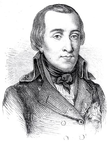 The Duc d'Enghien, Engraved by E.Thomas from the Design by H. Rousseau