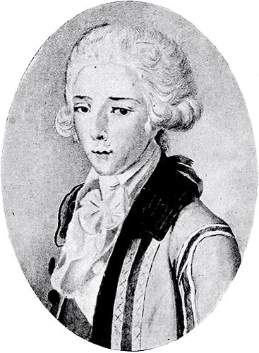 Le Duc d'Enghien en 1788