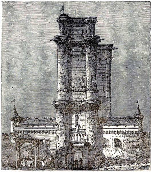 The Donjon Of Vincennes