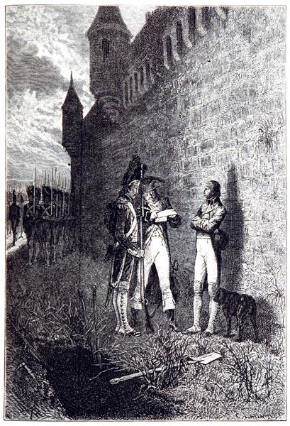 Mort du Duc d'Enghien