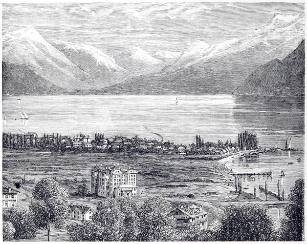 Vevay and the Lake of Geneva