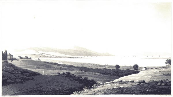 Distant View of the Bay and City of Smyrna