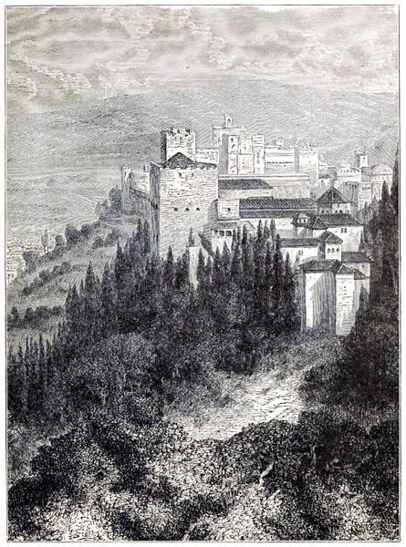 General View of the Alhambra, Granada