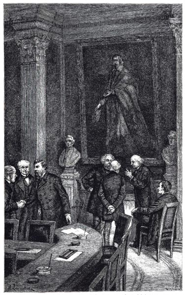 Meeting of the French Academy