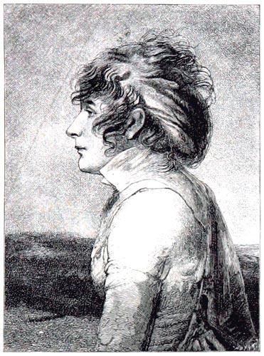 Joséphine, par Isabey; Coiffure « à la Coup de Vent »