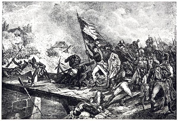 Bonaparte at the Bridge of Arcole, November 15, 1796