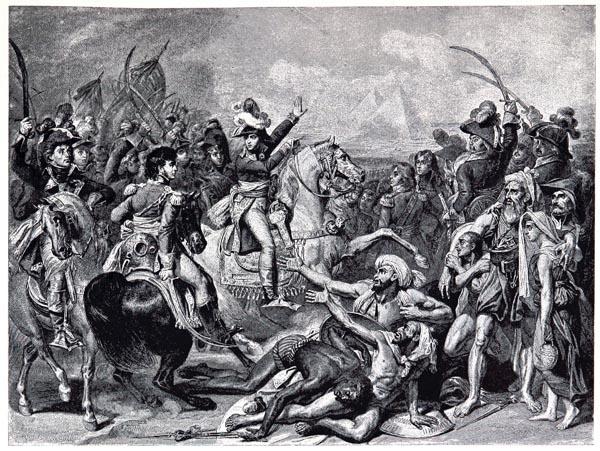 Bataille des Pyramides(21 juillet 1798), Tableau de Gros, Musée de Versailles
