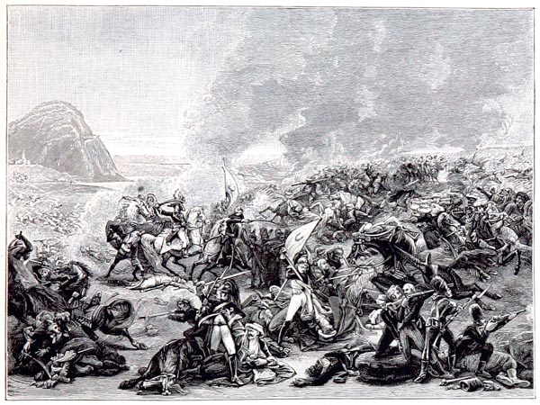 Combat de Nazareth. Esquisse de Gros, Musée de Nantes