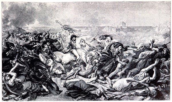 Bataille d'Aboukir (25 juillet 1799), Peint par Gros, Musée de Versailes