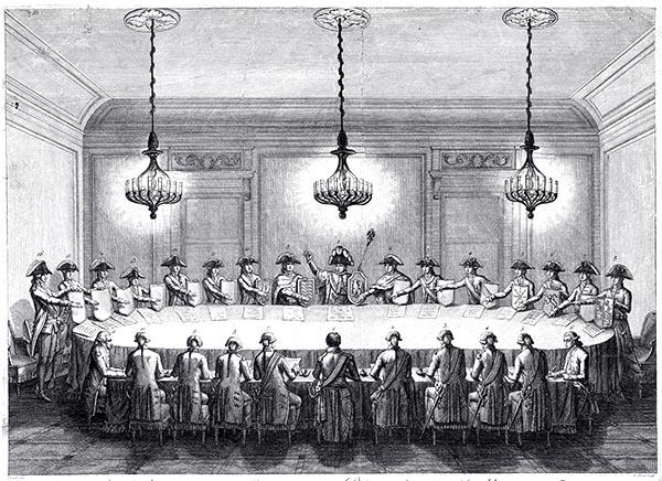 Confédération des États du Rhin le 25 juillet 1806