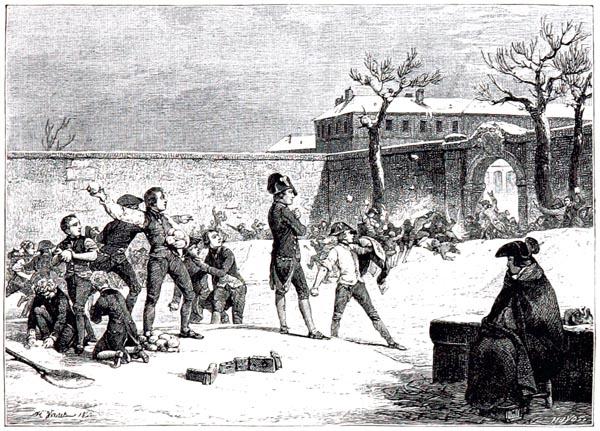 Enfance de Napoléon. Lithographie d'Horace Vernet