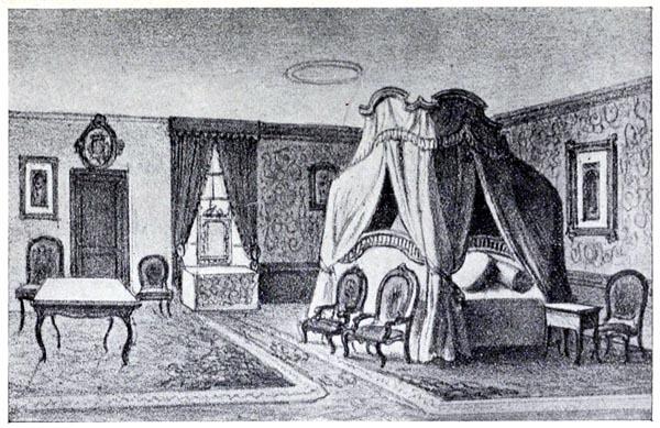 Chambre où est né Chateaubriand