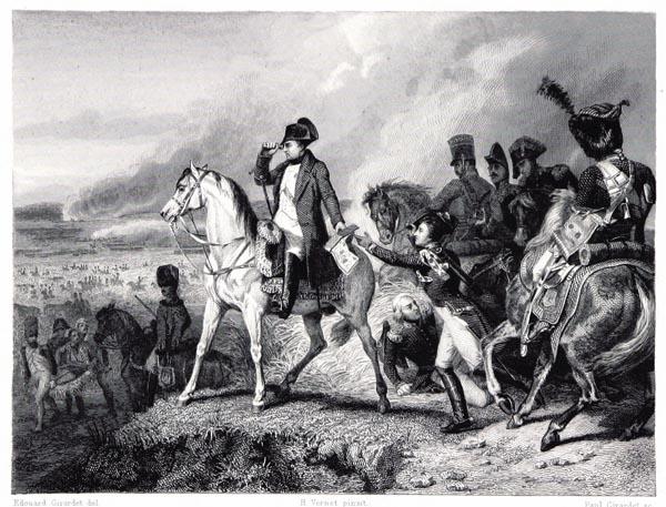 Bataille de Wagram, Tableau d'Horace Vernet, Musée de Versailles.