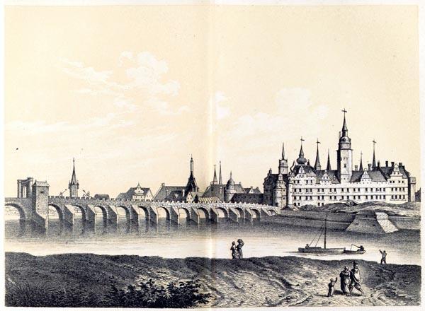 Das Churfürstliche Schloss, Dresden