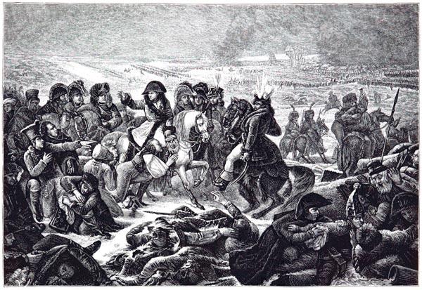 Bataille d'Eylau, Tableau de Gros, Musée du Louvre