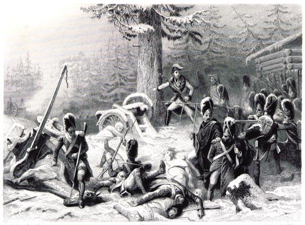 Conduite Héroïque du Maréchal Ney Pendant la Retraite de Russie (Combat Près de Somlensk)